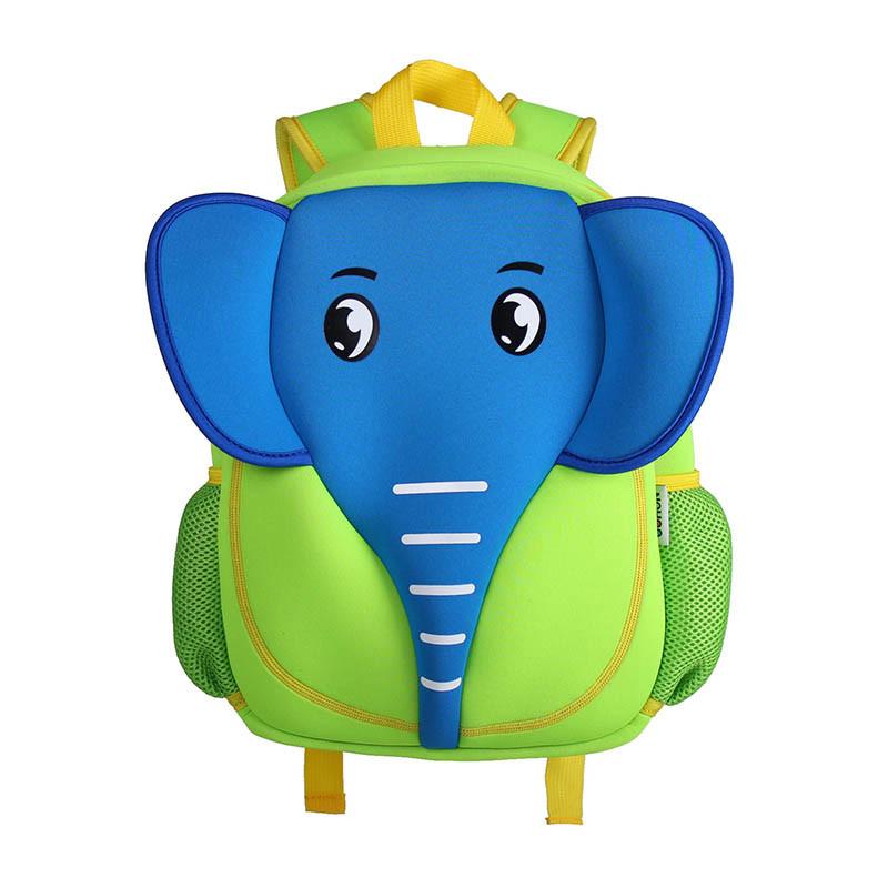 包邦主新款幼儿园书包大象儿童书包卡通可爱幼儿背包