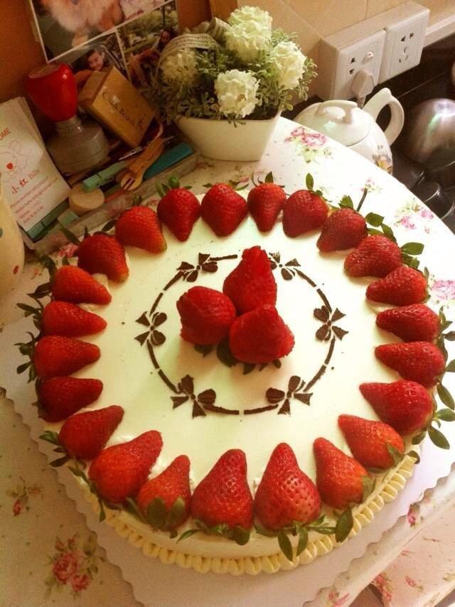 水果芝士蛋糕 - 小小红烘焙图片