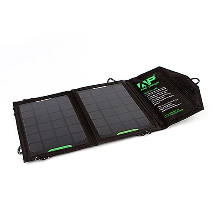 趣玩ap户外便携式折叠太阳能手机充电器