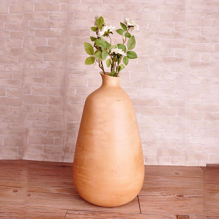 泰式家居用品 原木环保创意花瓶 东南亚实木复古花瓶