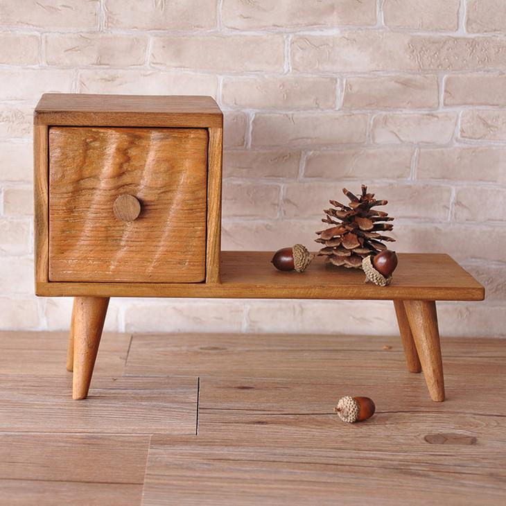 实木手工制作创意储物盒