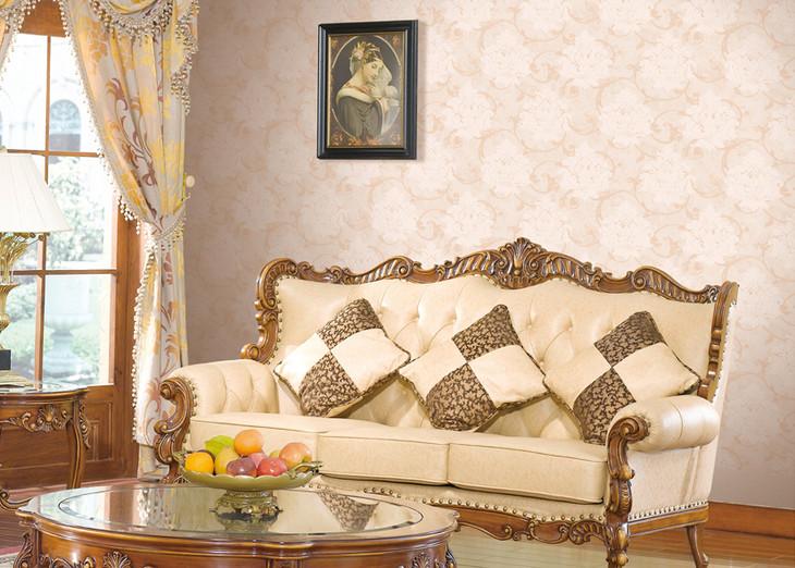 简欧式白色家具配什么什么颜色墙纸好看