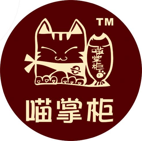 零食店logo手绘