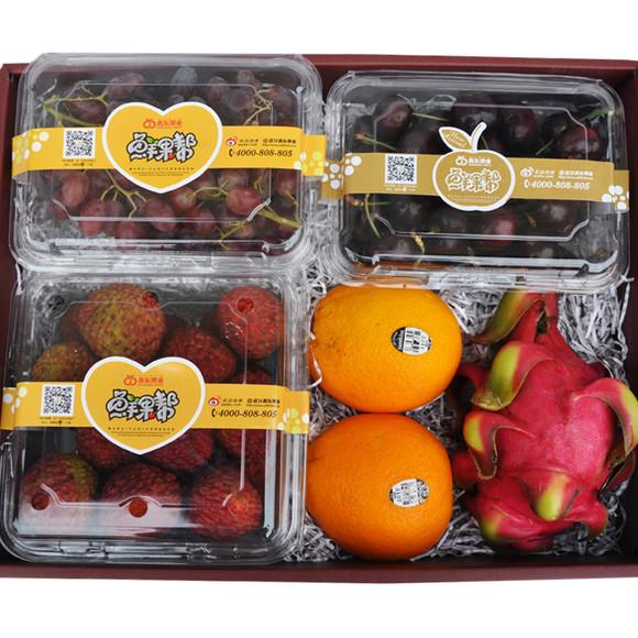 【鑫东果业】水果礼盒 套餐e超值搭配 丰富营养 进口新鲜水果图片
