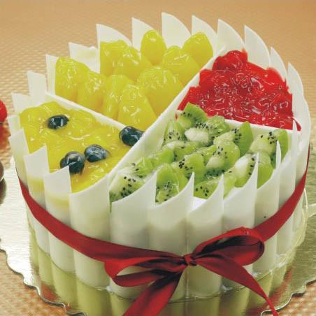 南昌乔家栅巧克力创意水果生日蛋糕