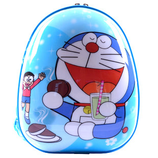 男女童可爱卡通韩国多啦a梦机器猫宝宝双肩小背包       手机启动微信