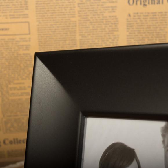 5寸 7寸相框摆台 欧式简约现代照片墙 创意黑色组合挂