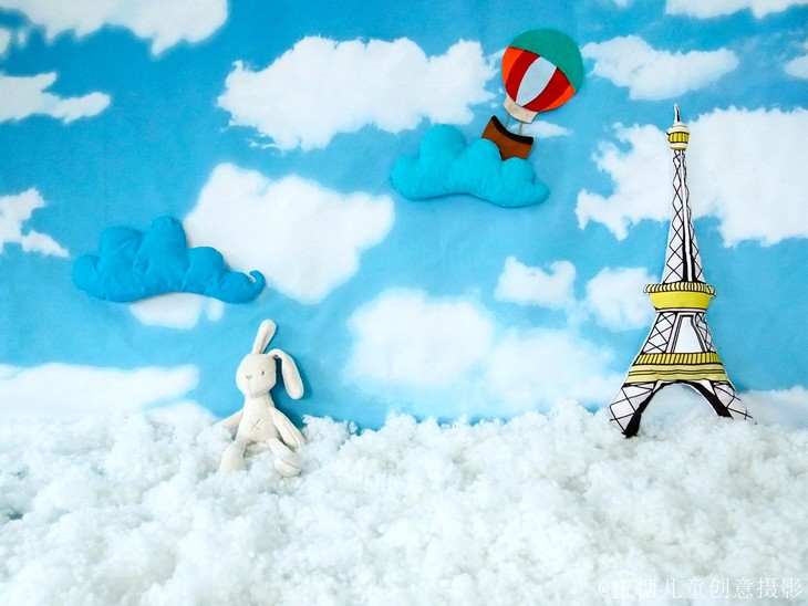 棉花糖天空