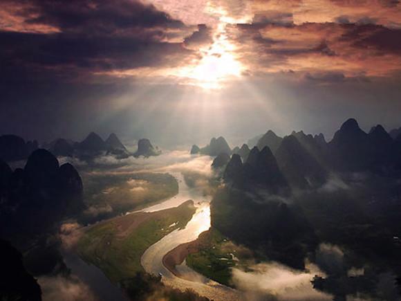 阳朔直升飞机摄影观光精品游3天2晚