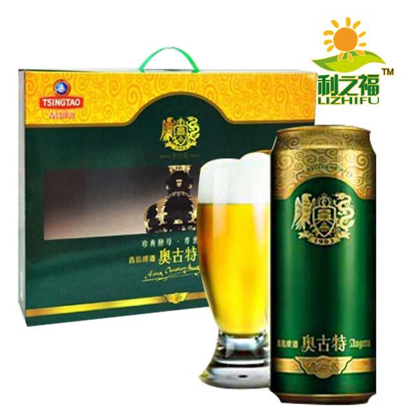 青岛啤酒奥古特礼盒500ml*10听(仅限青岛市内市区或自提点自提)