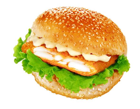 虾堡/鳕鱼堡/香辣鸡腿堡 鸡翅/鸡块 骨肉相连图片