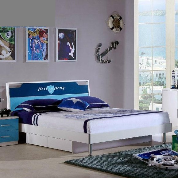 少年卧室套装床1
