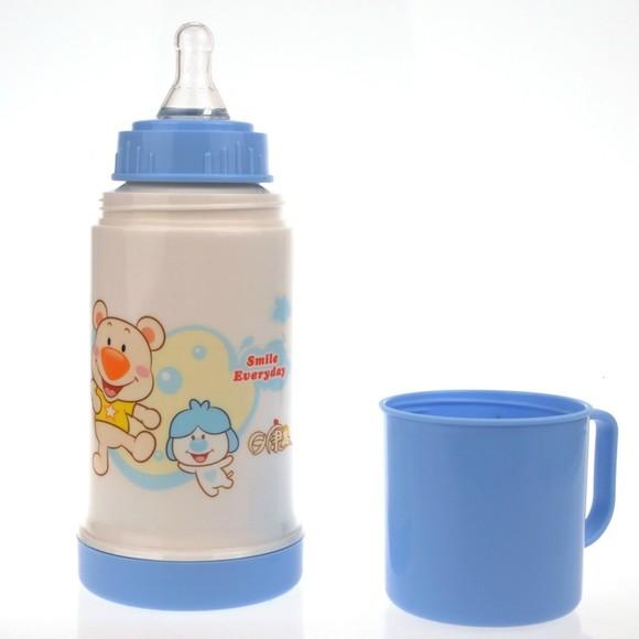 婴儿奶嘴保温水杯 婴儿水杯6个月以上鸭嘴