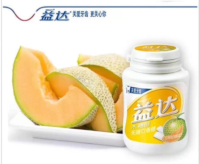 益达木糖醇香浓蜜瓜味56g