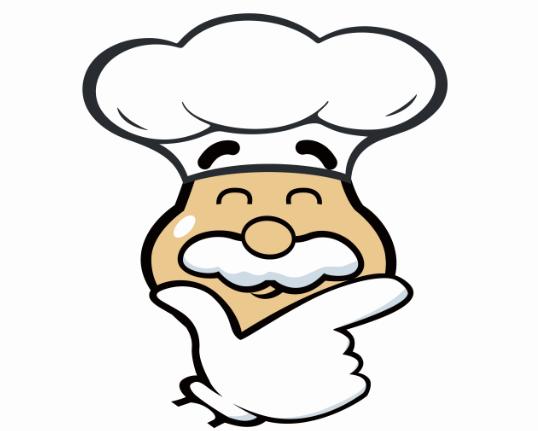 可爱厨师简笔画
