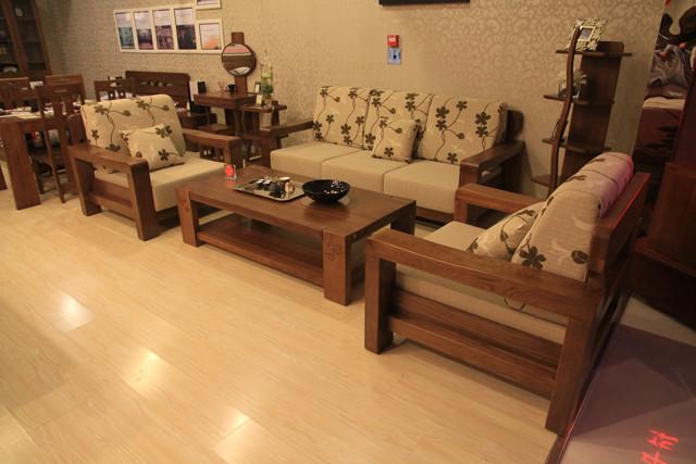 青岛一木实木家具高瓴材质美国进口白橡木gl12单人沙发 系列