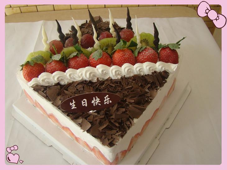 桐城生日蛋糕/蛋糕/水果蛋糕/草莓森林蛋糕/桐城蛋糕