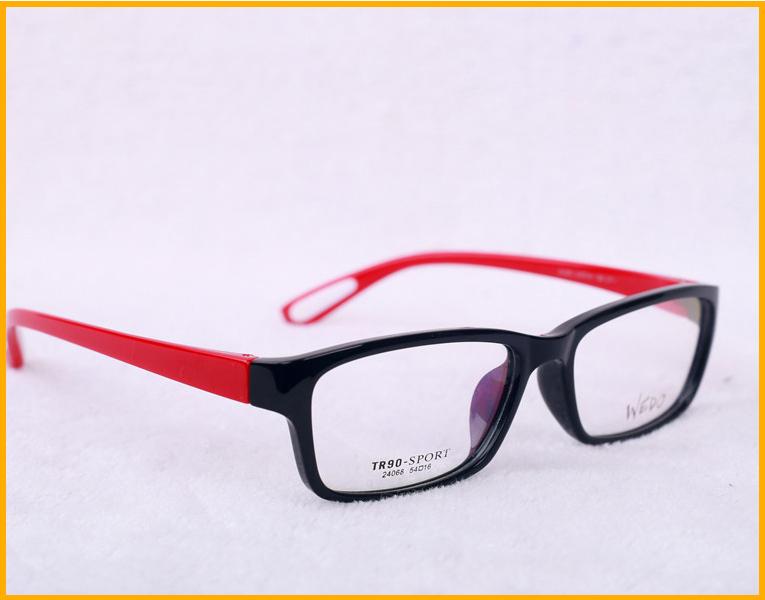 叶县康明维度2014新款全框超轻时尚黑框女款近视平光装饰眼镜架图片
