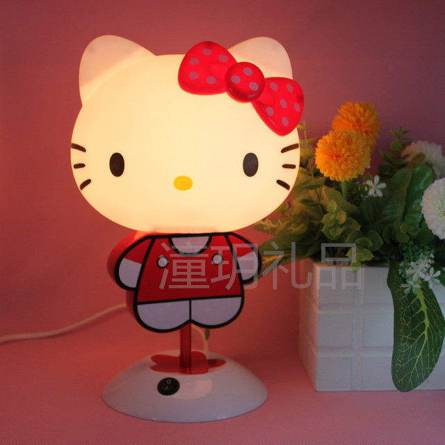 hello kitty 小夜灯