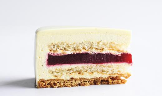 白巧克力覆盆子蛋糕WHITE CHOCOLATE RASPBERRY MOUSSE CAKE 商品图1