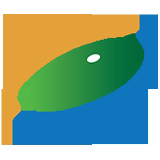 海边风车logo