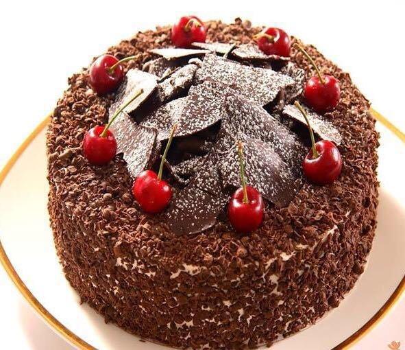 【黑森林慕斯】金圣萝兰黑森林精美蛋糕