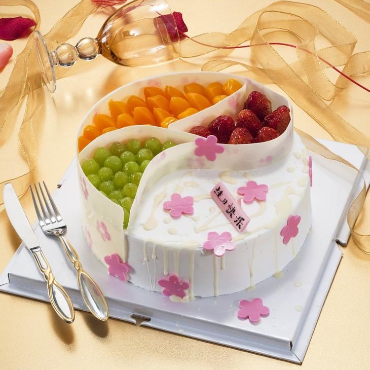 水果拼 - 左岸蛋糕商城