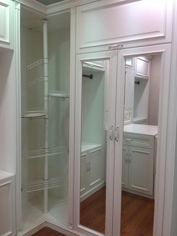 【简约欧式】衣柜 衣帽间 酒柜 床 移门 开门 罗马柱