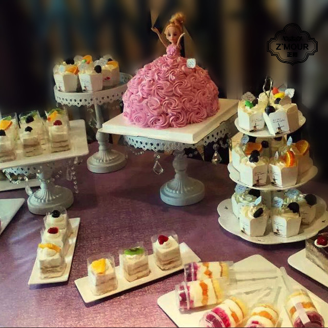 正陌法式甜品桌图片