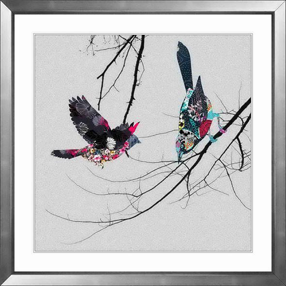 新中式风格 花鸟系列 喜鹊 装饰画