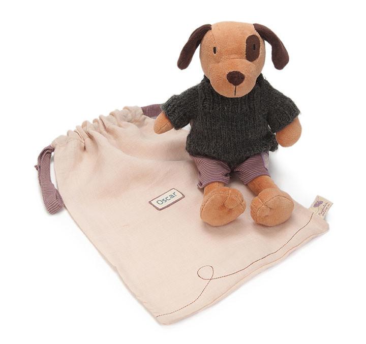 商品亮点:  ★ 来自英国的可爱动物造型手工布偶,充满细节的手作质感