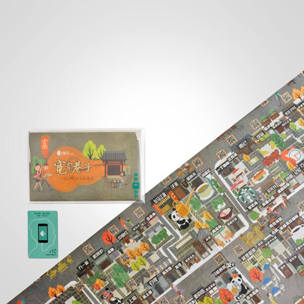 鱼说,宽窄巷子·会讲故事的手绘地图图片