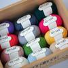 【云柔】新款美丽诺羊毛真丝混纺进口中粗手编毛线编织人生出品50克/团 商品缩略图1