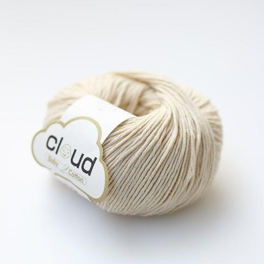 【云棉2】宝宝毛线婴儿纯棉线手编绒线中粗钩编织有机棉儿童毛线50克/团 商品图1