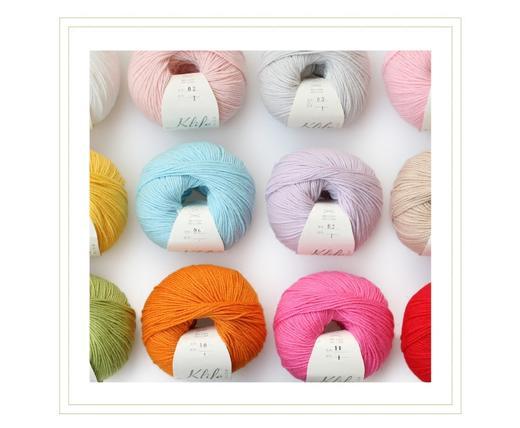 【编织人生.萌芽】宝宝毛线 57%羊毛43%棉 可机洗 50克/团 商品图1