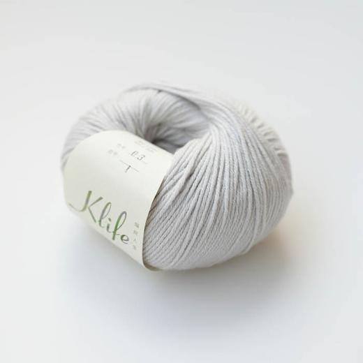 【编织人生.萌芽】宝宝毛线 57%羊毛43%棉 可机洗 50克/团 商品图4